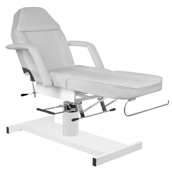 Fotel kosmetyczny hyd. A 210 szary #3