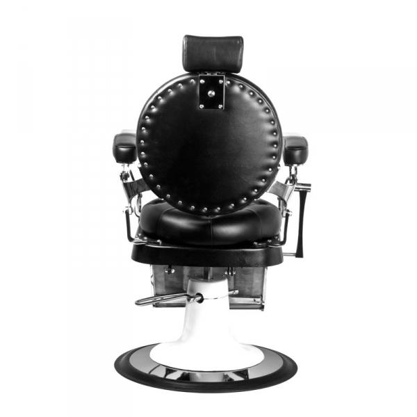 Gabbiano Fotel Barberski Imperator Czarny #4