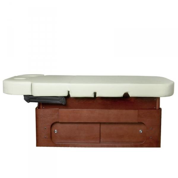 Spa leżanka kosmetyczna azzurro wood 361a 4 siln. Podgrzewana #4