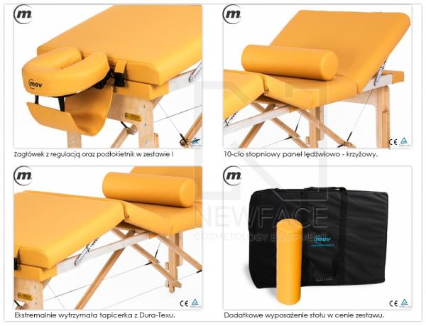 Stół do masażu składany Manual #4