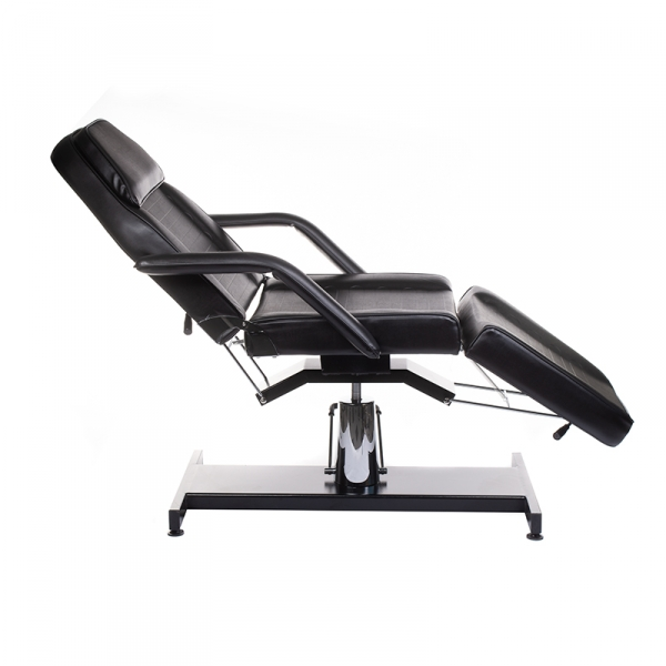 Fotel Kosmetyczny Hydrauliczny BW-210 Czarny #1