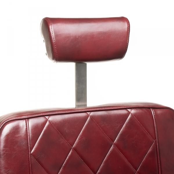 Fotel barberski ODYS BH-31825M Burgund #1