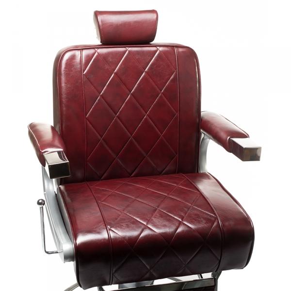 Fotel barberski ODYS BH-31825M Burgund #2