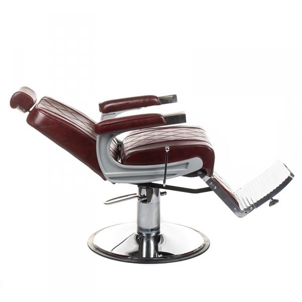 Fotel barberski ODYS BH-31825M Burgund #4