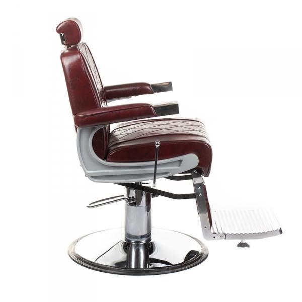 Fotel barberski ODYS BH-31825M Burgund #5