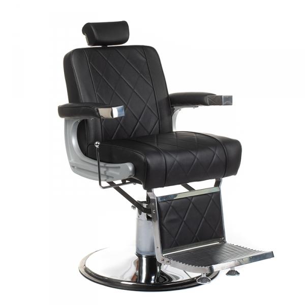 Fotel barberski ODYS BH-31825M Czarny #1