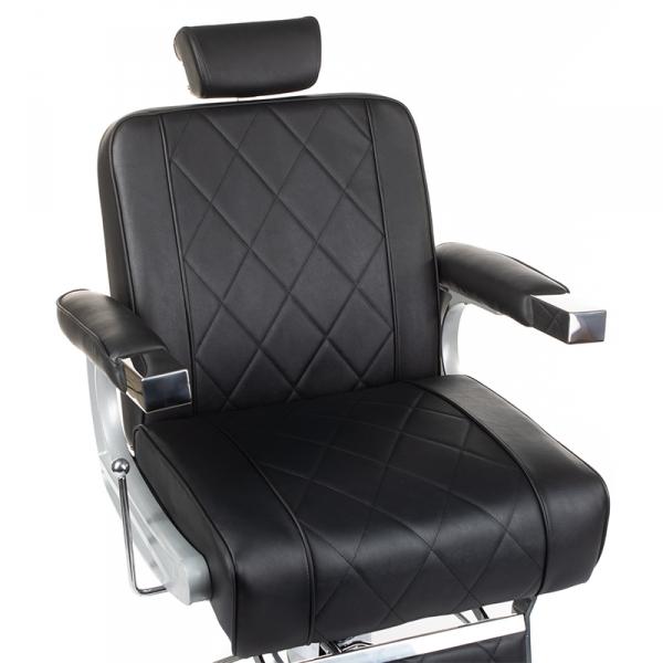 Fotel barberski ODYS BH-31825M Czarny #2