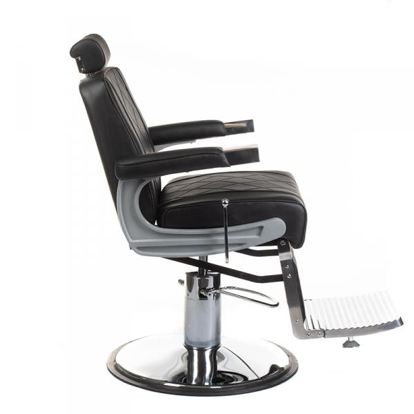 Fotel barberski ODYS BH-31825M Czarny #4