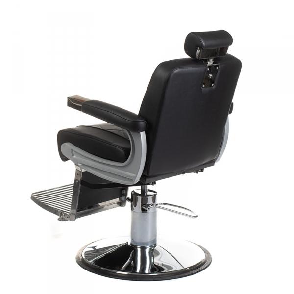 Fotel barberski ODYS BH-31825M Czarny #5