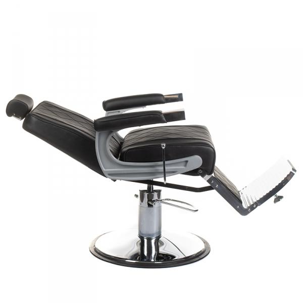 Fotel barberski ODYS BH-31825M Czarny #7