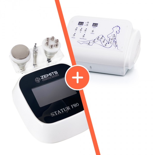 Zestaw Urządzenie do modelowania sylwetki i liftingu Zemits Statur PRO + Urządzenie do presoterapii i drenażu limfatycznego Zemits Sisley  #1