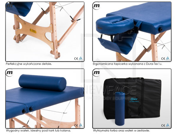 Stół do masażu składany Pro-Master #4