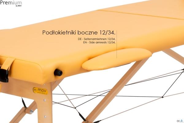 Stół do masażu składany Premium #8