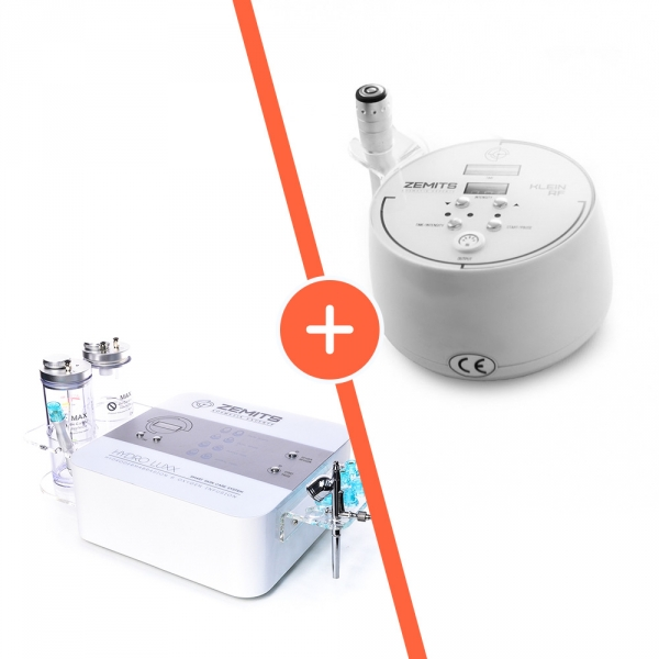 Urządzenia Do Hydrabrazji I Infuzji Tlenowej Zemits Hydroluxx + Urządzenie Do RF Liftingu Zemits Klein RF #1