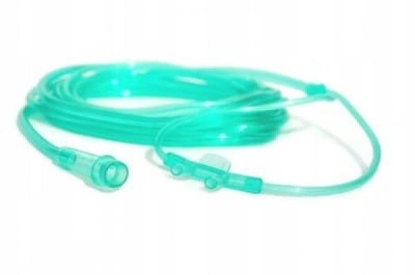 Cewnik do podawania tlenu przez nos wąsy 2m Koncentrator Tlenu #1