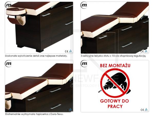 Stół Do Masażu Stacjonarny Lux M1 #3