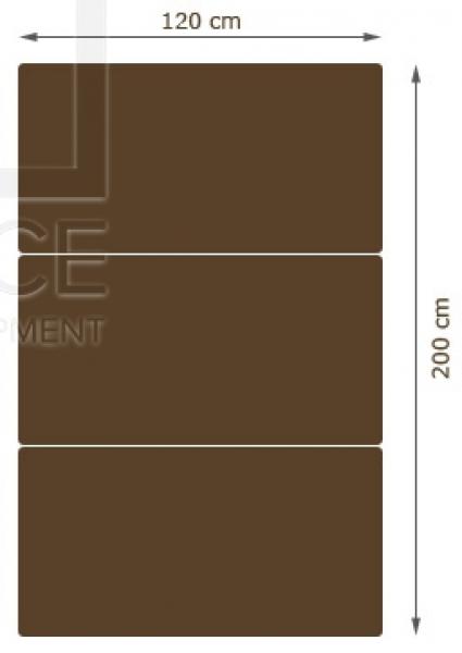 Materac Składany Mobireh 120cm #3