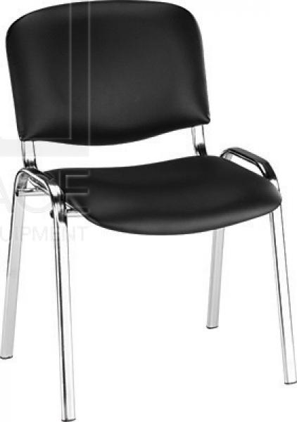 Krzesło Do Poczekalni Liza Czarny #1