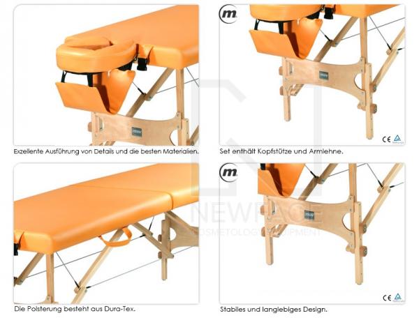 Stół do masażu składany Aura #1