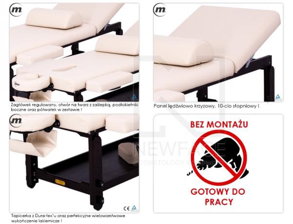 Stół Do Masażu Stacjonarny Spa Plus Venge Max #3