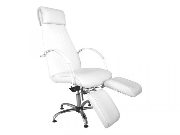 Fotel Kosmetyczny PM Pedicure Makijaż Z Podnóżkami #1