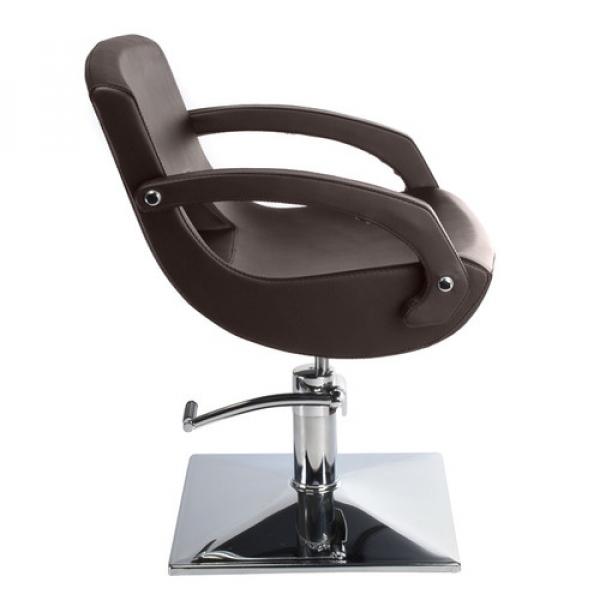Fotel fryzjerski Nino BH-8805 brązowy #5