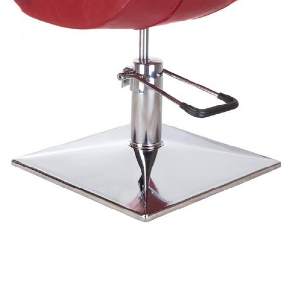 Fotel fryzjerski Nino BH-8805 czerwony #3
