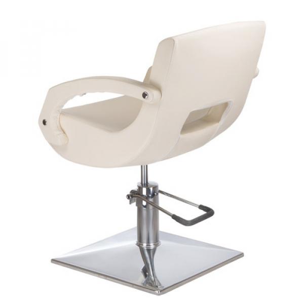 Fotel fryzjerski Nino BH-8805 kremowy #2