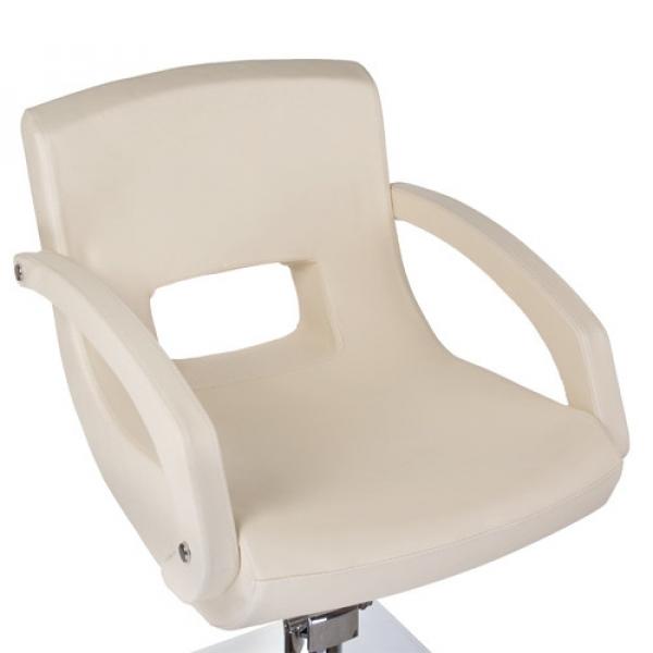 Fotel fryzjerski Nino BH-8805 kremowy #4