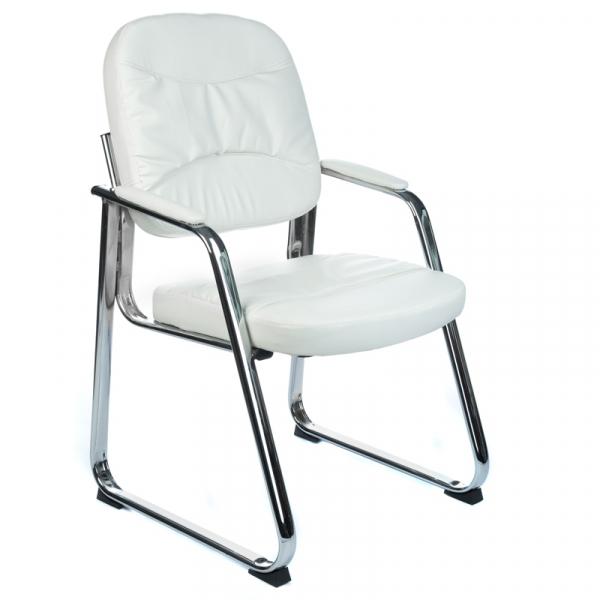 Fotel Konferencyjny Corpocomfort BX-719 Biały #1