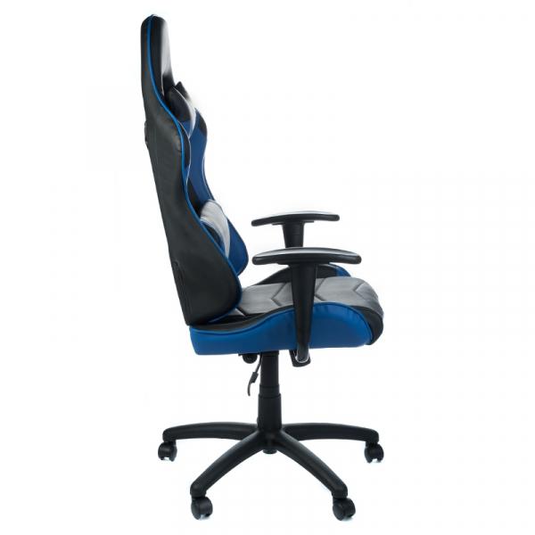 Fotel Gamingowy RACER CorpoComfort BX-3700 Niebies #3