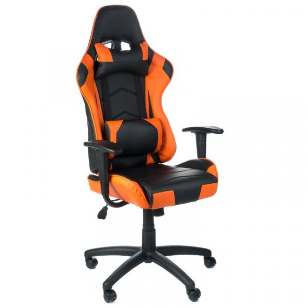 Fotel Gamingowy RACER CorpoComfort BX-3700 Pomarań #1