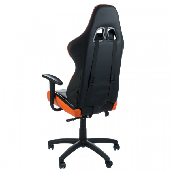 Fotel Gamingowy RACER CorpoComfort BX-3700 Pomarań #4