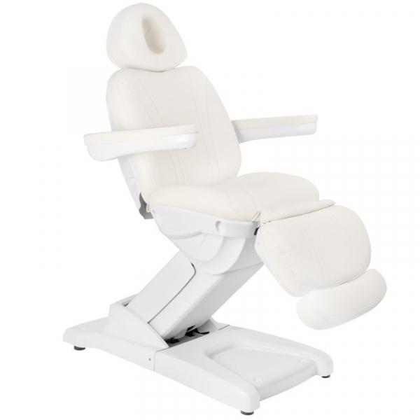Fotel Kosmetyczny Elektr. Azzurro 872 4 Siln. Biały #1