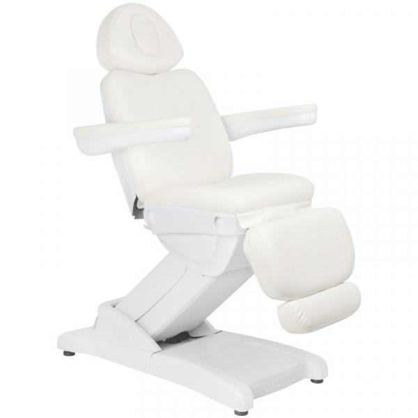 Fotel Kosmetyczny Elektr. Azzurro 871a 2 Siln. Biały #1