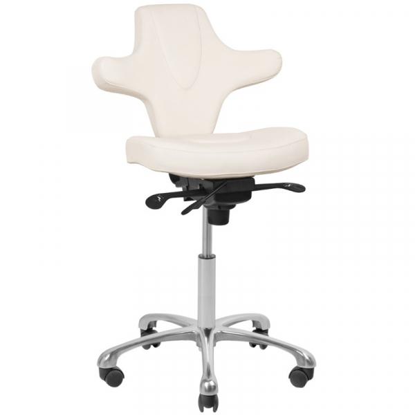 Krzesło Kosmetyczne Azzurro Special 052 Białe #1