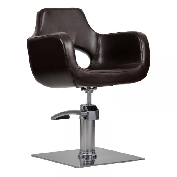 Fotel Mediolan Brąz #1