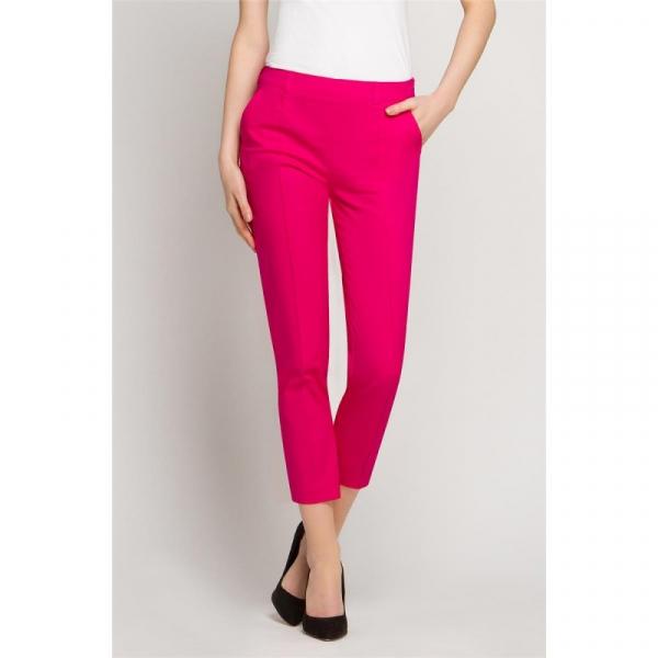 Spodnie kosmetyczne Cygaretki Amarant, Rozmiar 40 #1