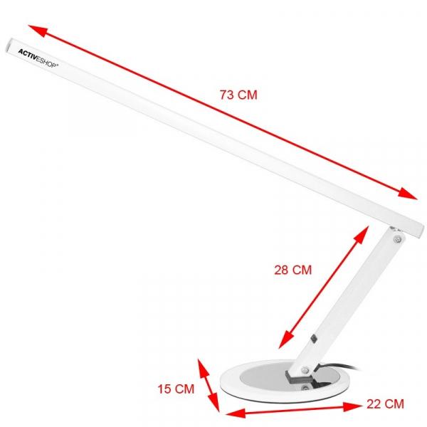 Lampa na biurko Slim LED Biała #2