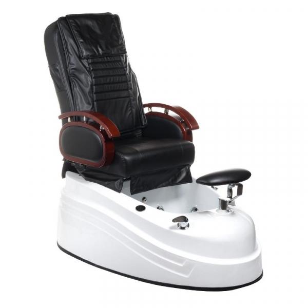 Fotel do pedicure z masażem BR-2307 Czarny #1