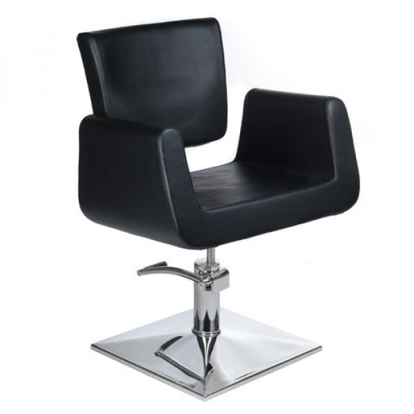 Fotel Fryzjerski Vito BH-8802 Czarny #1