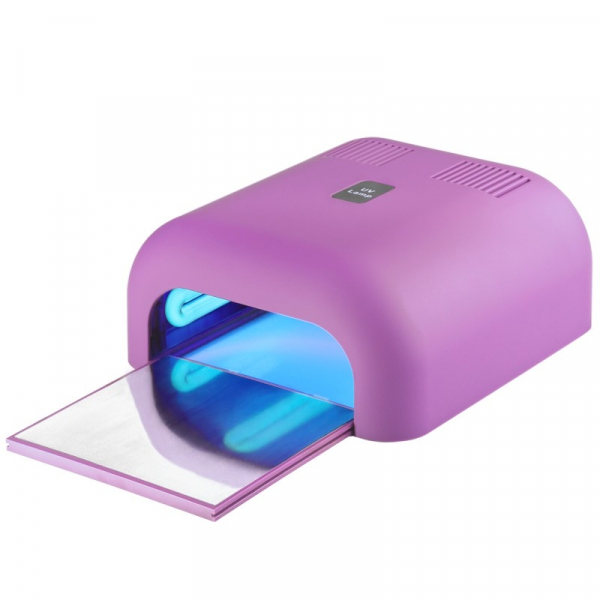 Lampa Uv 36W Timer Soft Light Pink Z Wysuwanym Dnem #1