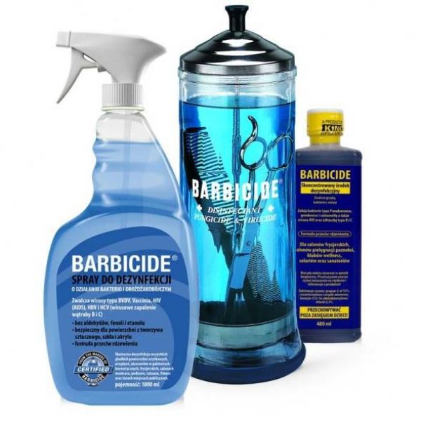 Koncentrat do dezynfekcji narzędzi 480 ml, BARBICIDE #1