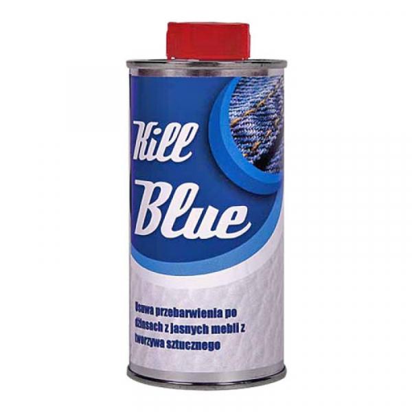 Płyn do usuwania przebarwień po dżinsach z mebli KILL BLUE, 250ml #1