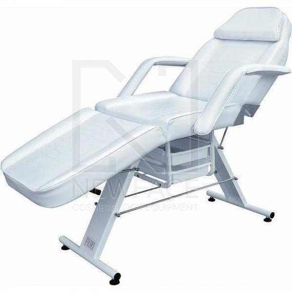 Fotel Kosmetyczny Manualny Basic Z Kuwetami #1