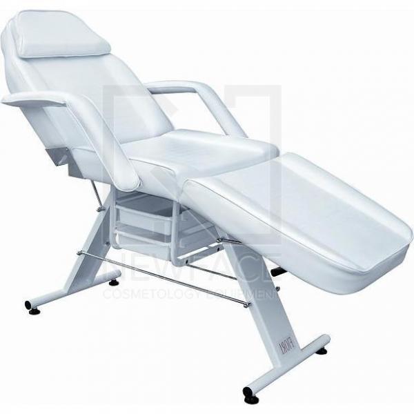 Fotel Kosmetyczny Manualny Basic Z Kuwetami #2
