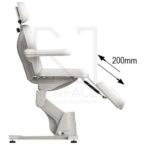 Fotel kosmetyczny elektryczny 2w1 optima #1