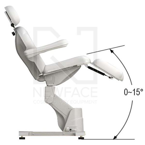 Fotel kosmetyczny elektryczny 2w1 optima #11