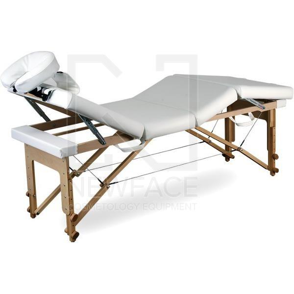 Stół Do Masażu Przenośny Składany Basic 3 Plus #4