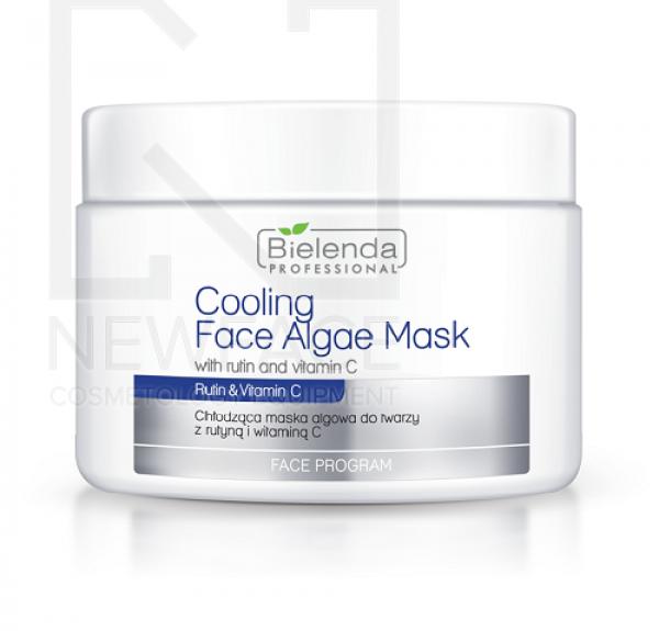 Bielenda Chłodząca maska algowa z rutyną i witaminą c, 190 g #1